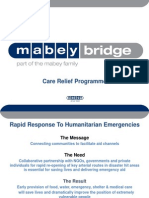 Care Relief Programme