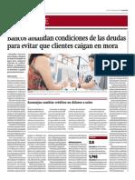 Bancos ablandan condiciones de las deudas para evitar que clientes caigan en mora_Gestión 27-10-2014.pdf