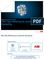 Wet Gas Metering by Isokinetic Sampling