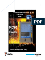 Deqtec Minteq Measuring Technology for Steel Industry