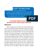 IEEE 2014 DOTNET MOBILE COMPUTING PROJECT A Scalable Multicast Source Routing Architecture for Data Center Networks