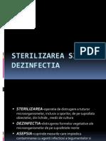Sterilizarea Si Dezinfectia