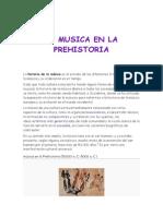 prehistoria de la musica