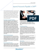 Automation Beyond Accounts Payable in Sap Article