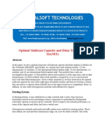 IEEE 2014 DOTNET MOBILE COMPUTING PROJECT Optimal Multicast Capacity and Delay Tradeoffs in MANETs