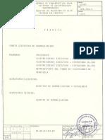 Norma CADAFE 62-87 Construcción Sistemas de Distribución Subterráneo Equipos de Medición AT en Caseta.pdf