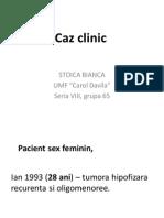 Caz Clinic(1) - Endocrinologie