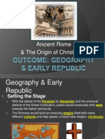 rome geography  early republic notes 1