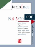 Bottazzi - Nessi e Connessi Scientifici Amianto INCA 2009