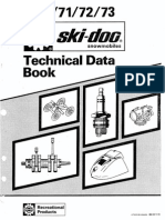 1970-1973 Ski-doo Technical Manual