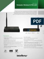 Roteador Wireless N150 4P #WIN240.pdf