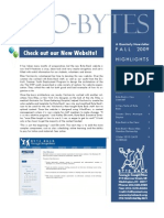 Byte Back Fall 2009 Newsletter