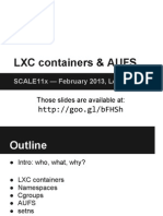 Jerome-Scale11x LXC Talk