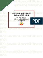 Program Pasca Upsr 2014
