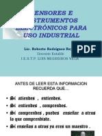 SENSORES E INSTRUMENTOS ELECTR�NICOS PARA USO INDUSTRIAL.ppt