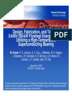 Boeing Flywheel ISS 2007
