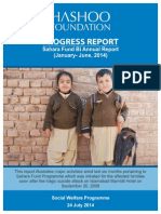 Sahara Fund Progress Report Jan-June 2014