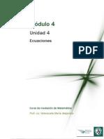 Modulo 4 - Ecuaciones.pdf