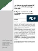Versão em português da Family Environment Scale - aplicação e validação.pdf