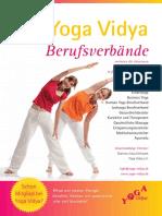 Berufsverband der Yoga Vidya Lehrer (BYV) Verbandsbroschüre