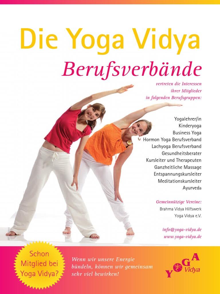 Berufsverband Der Yoga Vidya Lehrer Byv