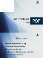 Sip Events Presence