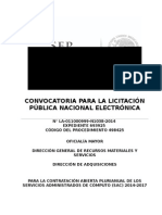 CONVOCATORIA LICITACIÓN PÚBLILCA SAC.doc