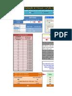 Planilha Configuração de Escalas e Altura do Texto no Autocad.xls