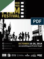 Philadelphia Film Festival, 2014