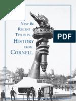 Cornell University Press 2009 History Catalog