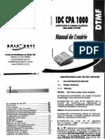 Manual do Usuário - IDC CPA 1000 - Roldsoft