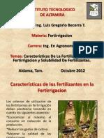 (Caracteristicas De La Fertilizacion En La Fertirrigacion).ppt