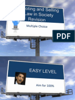 promoting and selling multiple choice
