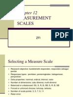 Ch12measurement Scales