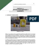 Cap. 11 - Aditivos para morteros o concretos1.pdf