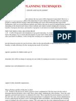 Common Estate Planning Techniques