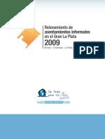 Relevamiento de asentamientos informales en el Gran La Plata 2009 - Informe final