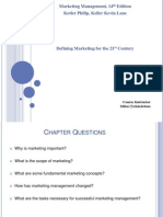 1 - Chapter 1 - Defining Marketing for the 21 Century