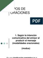 TIPOS DE ORACIONES. CORVERA.ppt