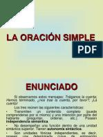 LA ORACIÓN SIMPLE. CORVERA.ppt