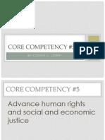 core competency 5
