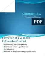 Formation Contract Law