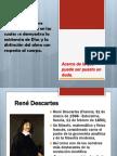Primera de las meditación - Descartes