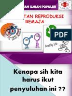 Kesehatan Reproduksi Remaja SMP SMA