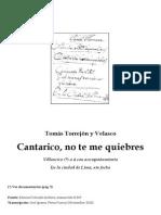 El Cantarico - Tomás de Torrejón y Velasco.pdf