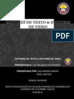 EDITORES DE TEXTO & EDITORES DE VIDEO.pptx