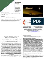 Las Posadas Web Bulletin