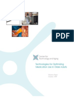 Technologies for Optimizing Medication Use in Older Adults