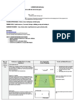 lesson plan field hockey