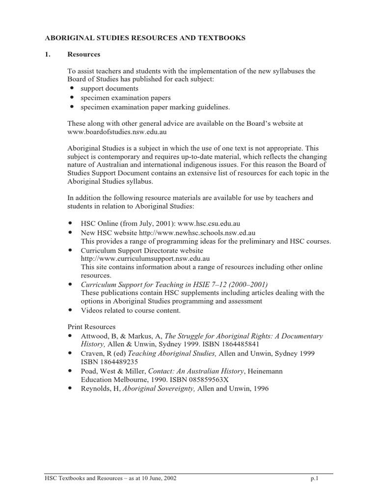 HSC Texts   Curriculum   Textbook